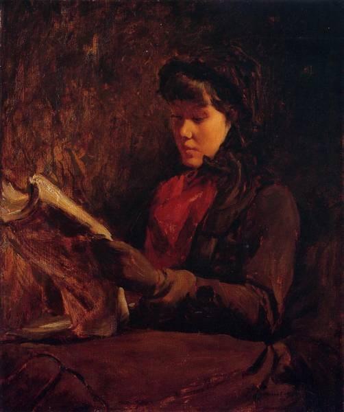 Frank Girl Reading